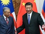 马来西亚取消数十亿美元中资项目