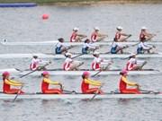 2018年亚运会:越南女子赛艇队再拿一枚银牌