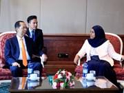 越南国家主席陈大光会见埃塞俄比亚参议院议长克里娅·易卜拉欣
