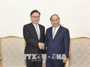 越南政府总理阮春福会见越南驻韩国釜山和庆尚南道地区名誉总领事朴秀冠