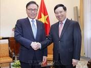 范平明会见越南驻韩国釜山和庆尚南道地区名誉总领事