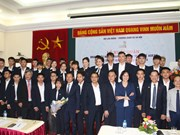 越南代表团出征第12届东盟职业技术比赛