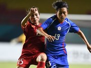 ASIAD 2018: 越南女足队止步四分之一决赛