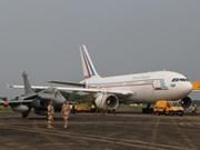 法国空军飞行表演队对越南进行访问