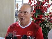 越南国奥队主帅朴桓绪承诺将竭尽全力迎战韩国国奥队