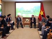 政府副总理王廷惠会见三菱集团执行副总裁
