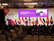 第50届东盟经济部长会议今日在新加坡拉开序幕
