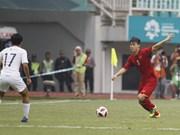 ASIAD 2018: 越南国奥队以1比3不敌韩国
