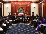 胡志明市愿与日本山梨县加强合作
