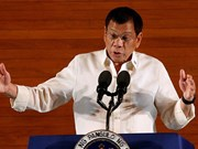 菲律宾总统对中东进行访问
