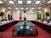 越共中央宣教部部长:平顺省应解决好引起民众不满的问题