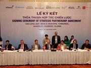 越南新龙集团与丹麦六家公司签署大米加工和畜牧养殖领域合作协议