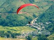 """""""在金色梯田上飞翔""""的2018年滑翔伞文化节即将举行"""