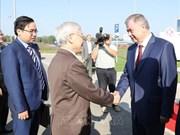 越共中央总书记阮富仲访问俄罗斯卡卢加州