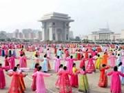 朝鲜驻越大使举行招待会