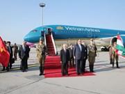越共中央总书记阮富仲抵达布达佩斯  开始对匈牙利进行正式访问