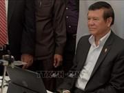 柬埔寨释放前反对党领袖根·索卡获准保释