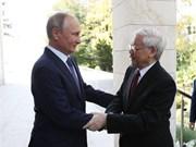 俄罗斯媒体:阮富仲俄罗斯之旅意义重大