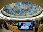 联合国人权理事会第39次会议开幕  杨志勇率领越南代表团出席