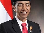 印度尼西亚总统开始对越南进行国事访问