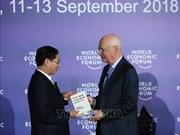 WEF-ASEAN 2018:《第四次工业革命》越南语版问世