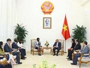 政府总理阮春福会见世行东亚与太平洋地区副行长维多利亚·克瓦