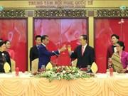 越南国家主席陈大光与夫人举行盛大招待会 欢迎印尼总统到访