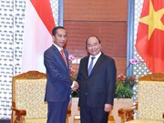 WEF ASEAN 2018:阮春福总理会见印尼总统佐科·维多多
