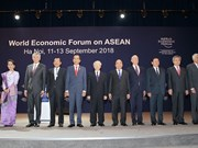 WEF ASEAN 2018: 2018年世界经济论坛东盟峰会在河内开幕