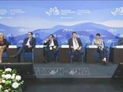 越南代表出席东方经济论坛