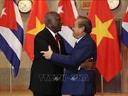 政府常务副总理张和平与古巴领导举行会谈