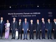 WEF-ASEAN 2018:东盟支持维护贸易自由