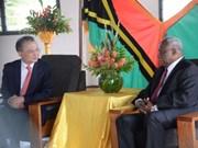 越南与瓦努阿图加强农业与水产领域的合作