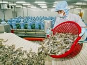 美国在第十二次行政复议中减少对越南虾类的反倾销税
