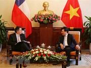 越南领导人向智利共和国领导致贺电