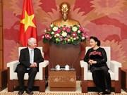 越南国会主席阮氏金银会见匈牙利总检察长波尔特