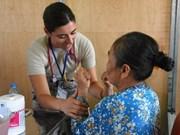 太平洋天使活动为广南省4000名居民免费看病送药