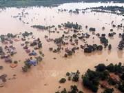 越南企业继续向老挝水电站溃坝事故灾民提供援助