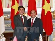 越南政府总理阮春福向日本首相安倍晋三致贺电  庆祝越日建交 45周年