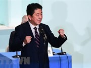 越共中央总书记阮富仲就日本首相安倍晋三连任自民党总裁致贺电