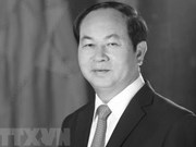 世界多国领导就越南国家主席陈大光逝世致唁电