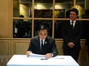 泰国总理与外长赴越南驻泰国大使馆吊唁陈大光