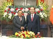 老挝、古巴和中国等世界各国领导继续就国家主席陈大光逝世向越方领导致唁电