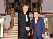 胡志明市和瑞典乌普萨拉省进一步加大高技术产业合作