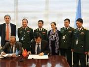 越南与联合国签署关于派遣驻南苏丹野战医院的备忘录