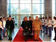 越南军队与古巴军队加强经济合作