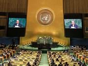 越南政府总理阮春福出席第73届联合国大会一般性辩论发表重要讲话