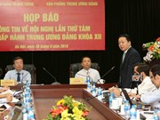 越共十二届中央委员会第八次全体会议将于10月2日开幕