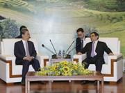 越共中央组织部部长范明正会见中共中央纪委书记赵乐际