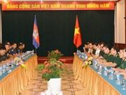 越柬两国促进青年军官交流合作